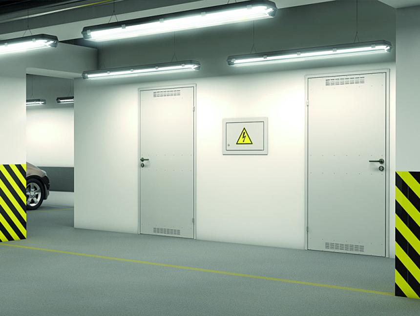 Levné technické dveře (dveře + zárubně)